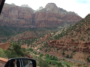 Driving Through Zion