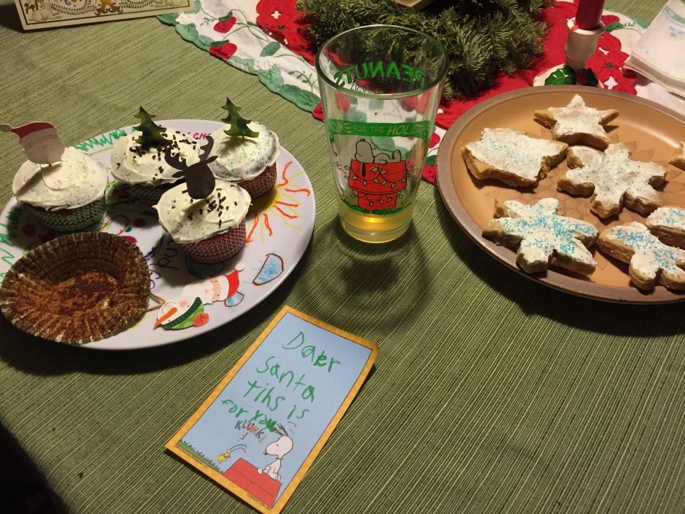 Cupcakes for Santa